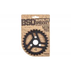 BSD Superlite 25t black sprocket