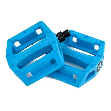 Mission Impulse blue PC pedals