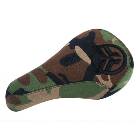 Federal Mid Logo camo with black logo BMX seat