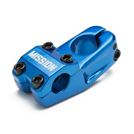 Mission Control 50mm blue BMX Stem