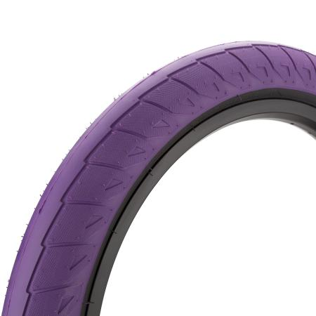 Cinema Williams 2.5 purple with back wall BMX tire