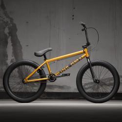 KINK Curb 2021 Matte Orange Flake BMX bike