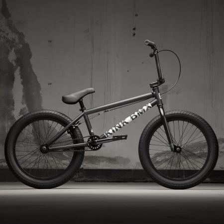 KINK Curb 2021 Matte Dusk Black BMX bike