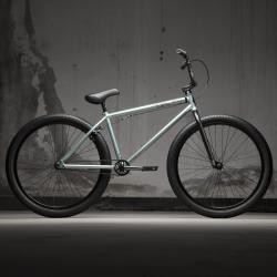 KINK Drifter 26 2021 Gloss Mirror Green BMX bike