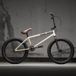 KINK Gap 2021 Matte Bone White BMX bike