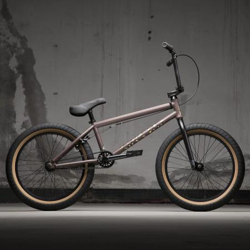 KINK Launch 2021 Matte Truffle Brown BMX bike
