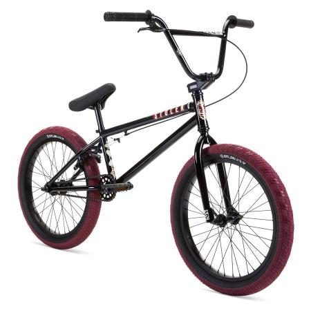 Stolen 2021 CASINO XL 21 Black with Blood Red BMX bike