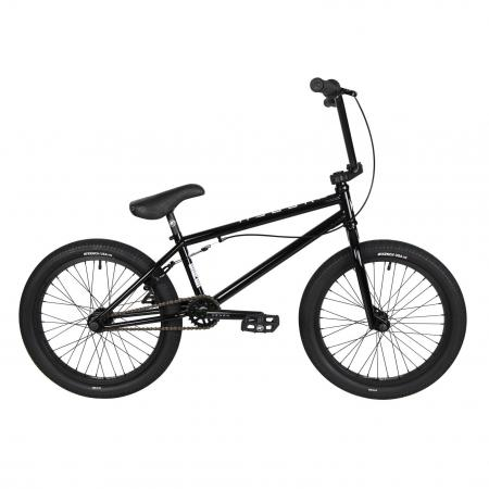 Kench Street Hi-ten 2021 20.75 black BMX bike