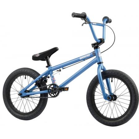 Mankind Planet 16 2021 Semi Matte Blue BMX Bike