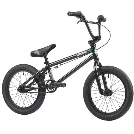 Mankind Planet 16 2021 Ed Black BMX Bike