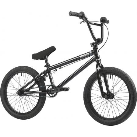 Mankind Nexus 18 2021 Gloss Black BMX Bike