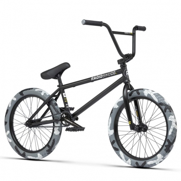 Radio Darko 2021 20.5 black camo BMX bike