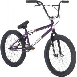 Academy Entrant 2021 19.5 Dark Purple with Polished BMX bike