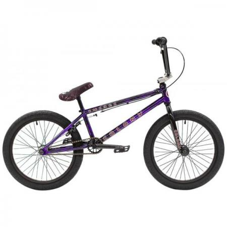 Colony Emerge 2021 20.75 Purple Storm BMX bike