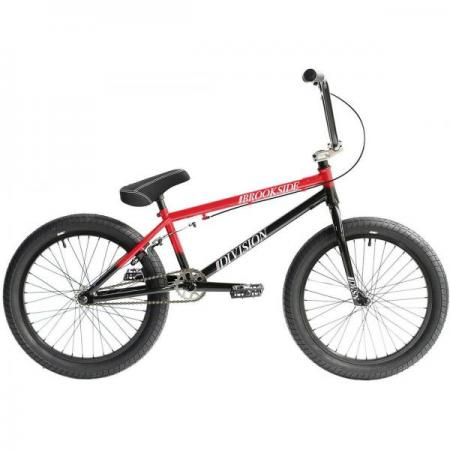 Division Brookside 2021 20.5 Black with Red BMX bike