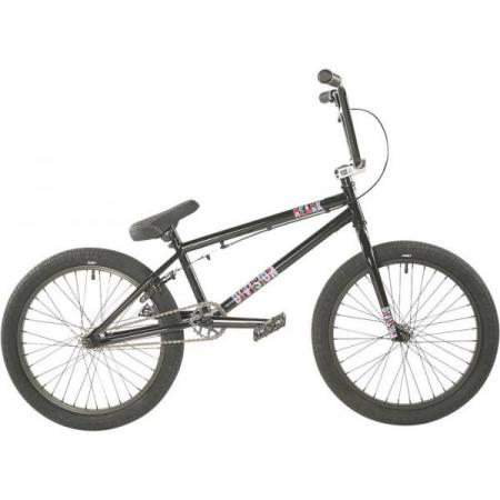 Division Reark 2021 19.5 Black with Polished BMX bike